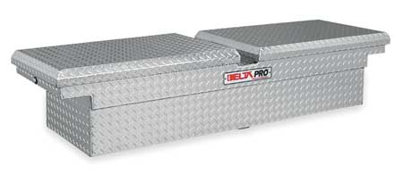 Crossover Truck Box, Silver, 70-1/4 in. W