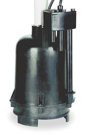 "1/3 HP 1-1/2"" Submersible Sump Pump 115V Sensor"