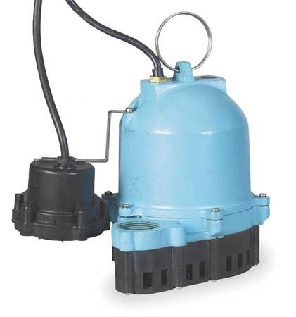 "1/3 HP 1-1/2"" Submersible Sump Pump 115V Diaphragm"