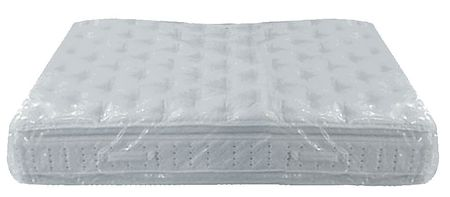 "96"" x 78"" Low Density Polyethylene Mattress Bag,  2 mil,  0"