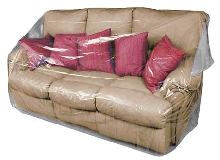 "150"" x 52"" Furniture Bag,  2 mil,  Pk50"