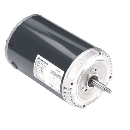 Mtr, 3 Ph, 3 HP, 3450, 208-230/460V, 56J, ODP