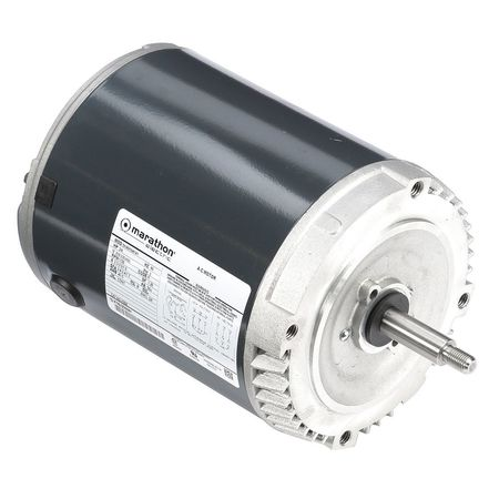 Mtr, 3 Ph, 3/4 HP, 1725, 208-230/460, 56J, ODP