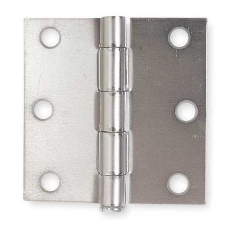 Template Hinge, Full Mortise, 3 X 3 In