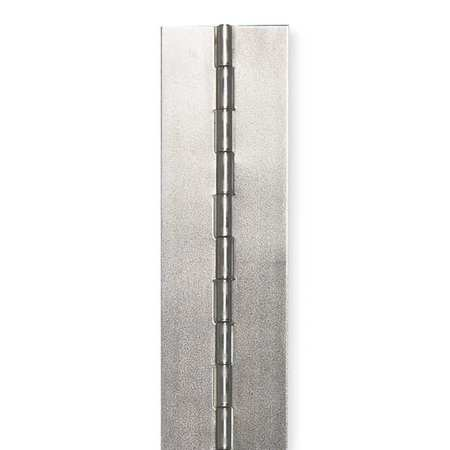 Continuous Hinge, Galvanized, 2 In. W