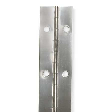 Piano Hinge, Natural, 6 ft. L, 2 In. W