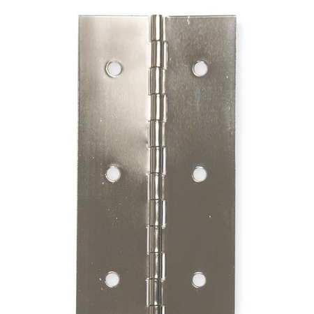 Continuous Hinge, Natural, 6 ft. L, 2 In. W