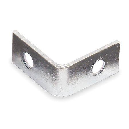 Corner Brace, Zinc, 1/2 W x 3/4 In L