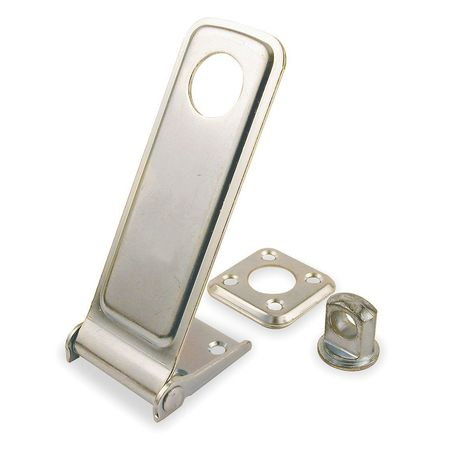 Hasp, Steel, 3-1/2 In. L