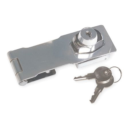 Safety Hasp, Steel, 4-1/2 In. L