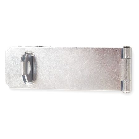 Adjustable Staple Hasp, Steel, 4-1/2 In. L
