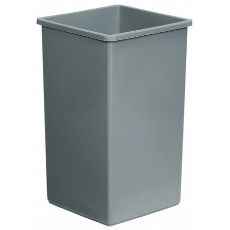 24 gal. Gray Polyethylene Square Rigid Can Liner