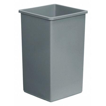 24 gal. Gray Polyethylene Square Rigid Can Liner