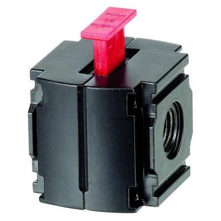 Lockout Valve, 1/2 In, 219 CFM, 250 PSI