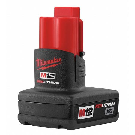 M12 Battery Pack,  12V,  3.0Ah,  Li-Ion
