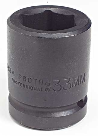 Impact Socket, 1 In Dr, 70mm, 6 pt