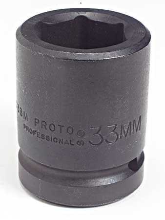 Impact Socket, 1 In Dr, 75mm, 6 pt