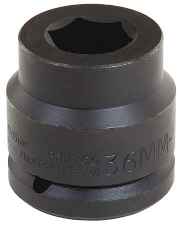 Impact Socket, 1-1/2 In Dr, 65mm, 6 pt