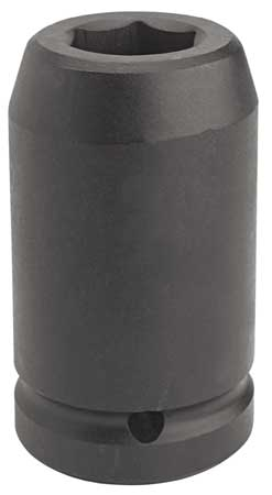 Impact Socket, 1 In Dr, 2-1/2 In, 6 pt