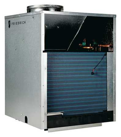 Vertical Packaged A/C,Cool Heat,9.8