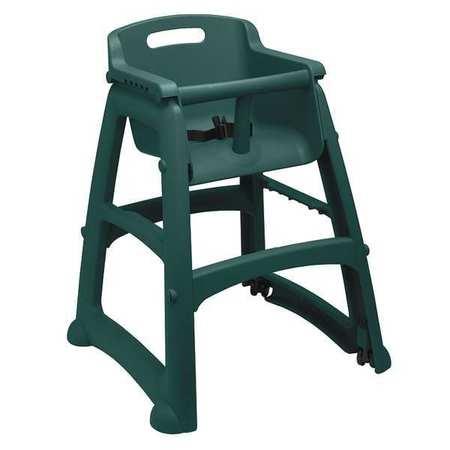 Youth High Chair,  Dark Green