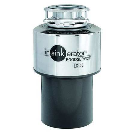 Garbage Disposal, Commercial, 1/2 HP