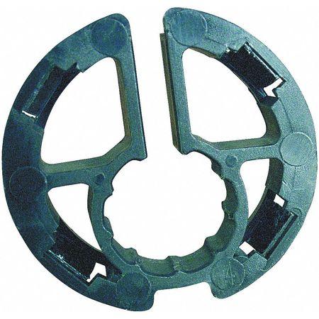 Metal Stud Insulator,  1/2 Dia, Pk5