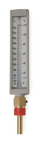 Compact Thermometer, 30 to 240 F, Lower