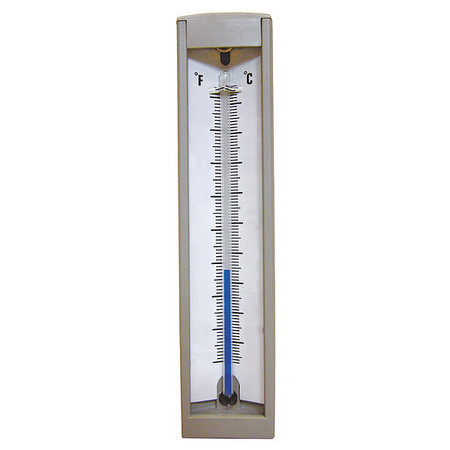 Compact Thermometer, 30 to 240 F, Back