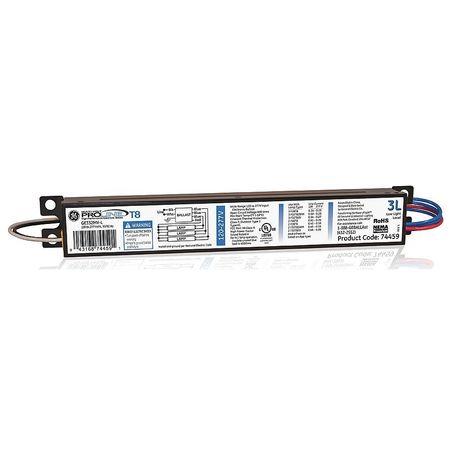 GE LIGHTING 73 to 74 Watts,  3 Lamps,  Electronic Ballast