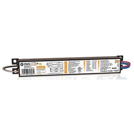 GE LIGHTING 57 to 59 Watts,  2 Lamps,  Electronic Ballast
