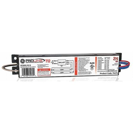 48 to 138 Watts,  1 or 2 Lamps,  Electronic Ballast