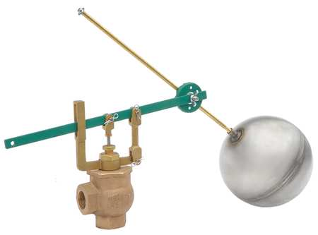 Float Valve Assembly, Double, Size 1 In.
