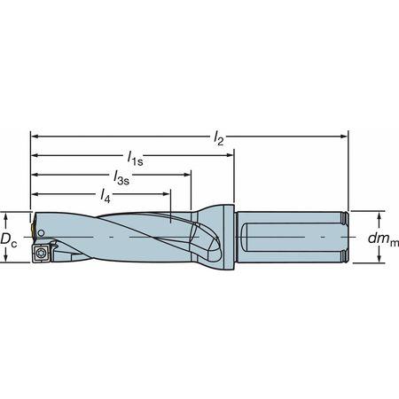 Drill Tool, CoroDrill, A880-D0937LX25-03