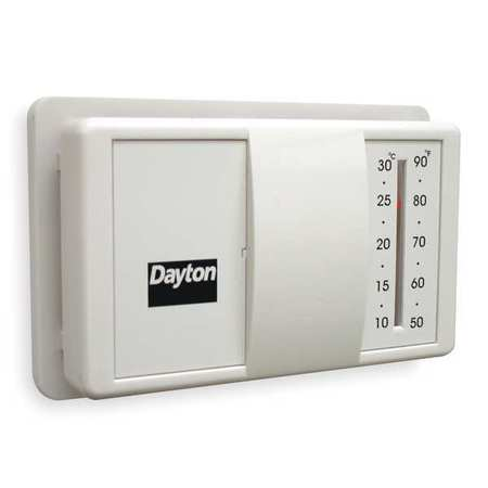 Thermostat,  50 to 90 Degrees F