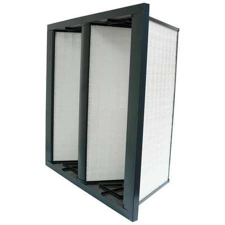 "V-Bank Air Filter,  12x24x12"",  MERV 14"