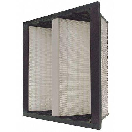 "V-Bank Air Filter,  24x24x12"",  MERV 14"