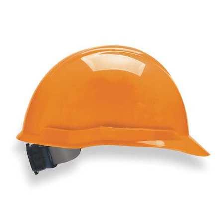 Hard Hat, FrtBrim, Slttd, 4Rtcht, Hi-Viz Org