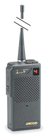 Two Way Radio, UHF, 3 Watts, 10 Channels