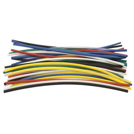 Shrink Tubing, 0.093in ID, Colors, 6in, PK35