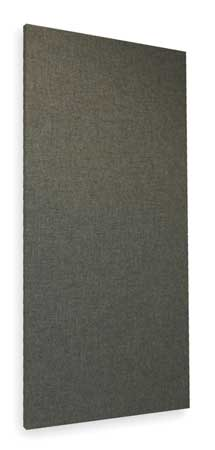 Acoustic Panel,  Fabric,  Gray,  8 sq. ft.