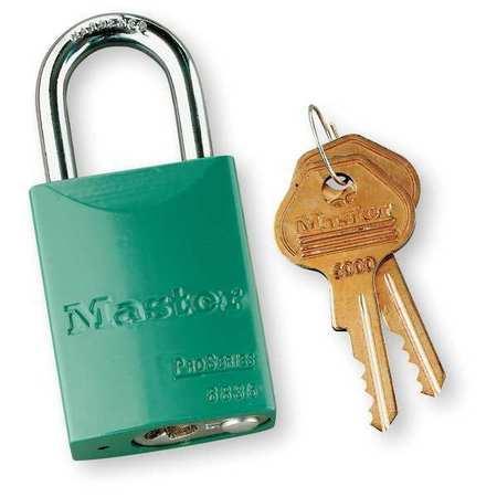 """Lockout Padlock, KD, Green, 1-7/8""""H"""