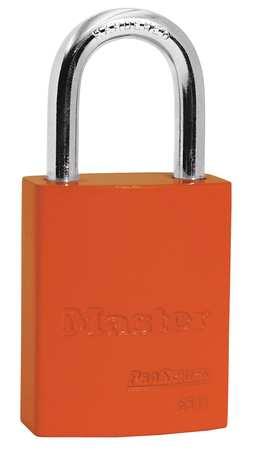 """Lockout Padlock, KA, Orange, 1-7/8""""H"""
