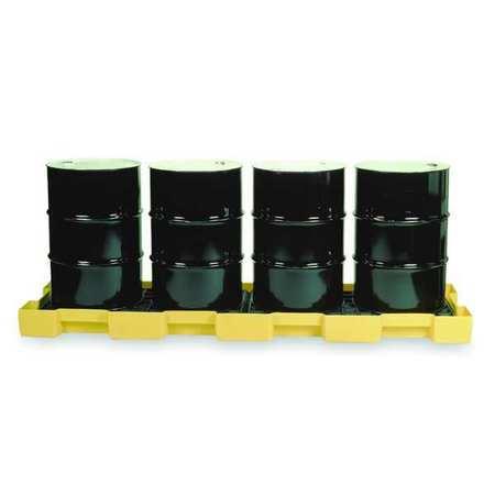 Inline Drum Spill Cntnmnt, 4 Drum, 10k lb.
