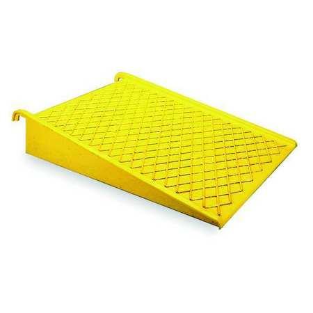 Spill Pallet Ramp, Yellow, 1500 lb.