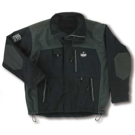 Jacket, No Insulation, Black, M