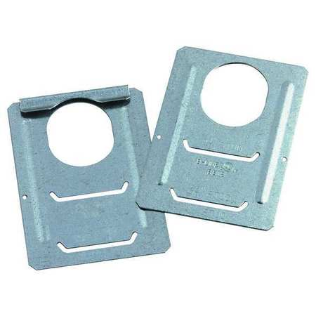 Supp Bracket, Clip On, 2 to 1/2-4 in Studs