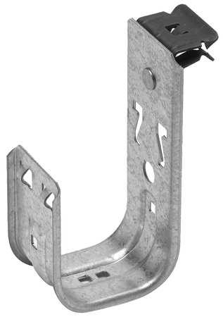 J-Hook, 1/8-1/4In, Front, 2In Max Cap