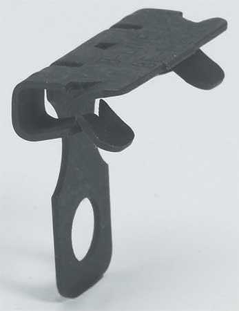 Flange Clip, Steel, Zinc Phosphate
