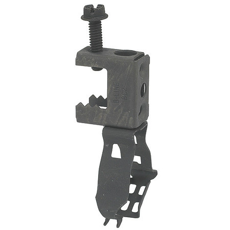 Beam Clamp, 1/2 to 3/4 in., Spring Steel